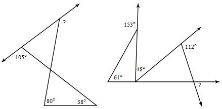 Outside Angles, Multi Step